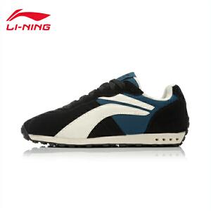 李宁男鞋运动生活系列复古经典休闲鞋男子轻便运动鞋ALCK127