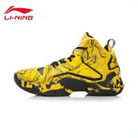 李宁男子专业比赛战靴篮球鞋空袭Ⅱ代CBA联赛运动鞋ABAK035